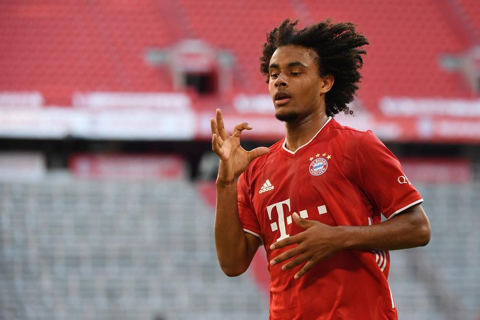 Wird Joshua Zirkzee (20) in der kommenden Spielzeit etwa wieder im Dress des FC Bayern München jubeln können?