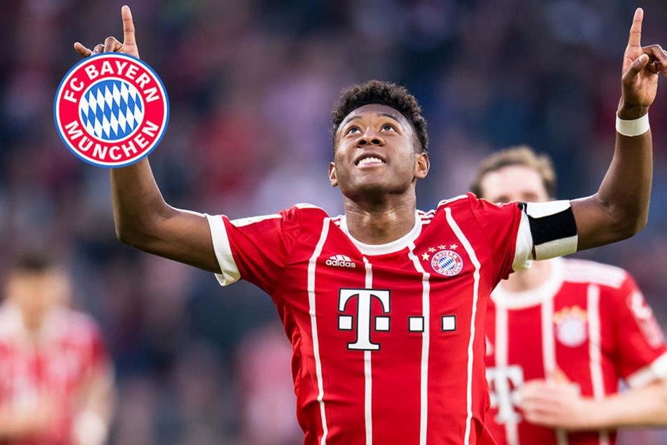 David Alaba will beim FC Bayern München bleiben!
