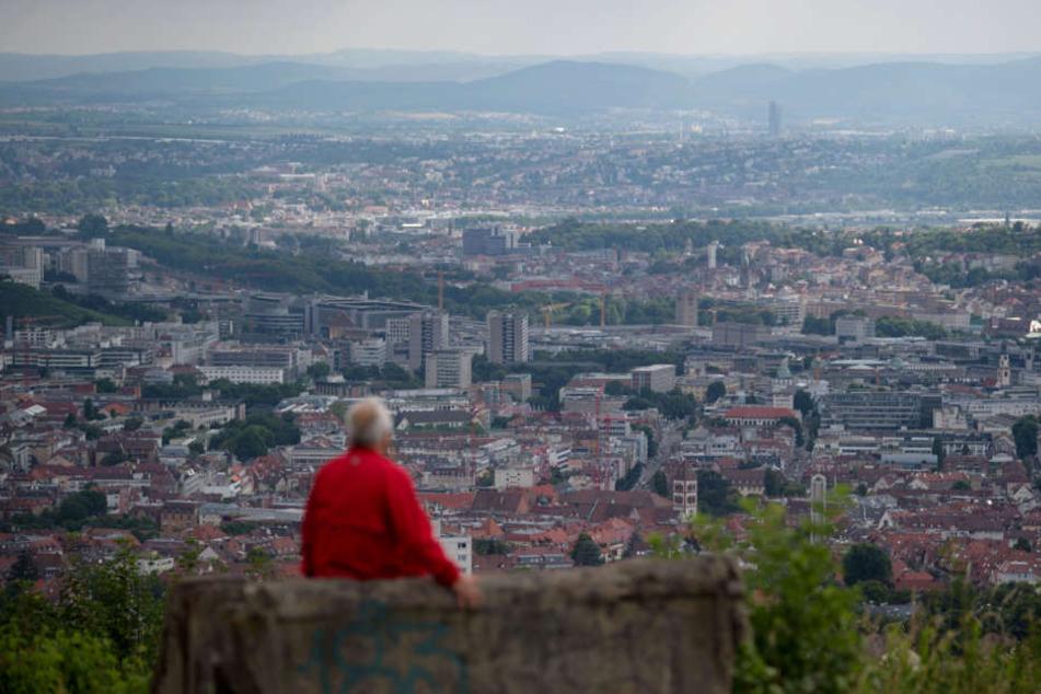 Blick über Stuttgart: Die Stadt muss sich nur München und Ingolstadt geschlagen geben.