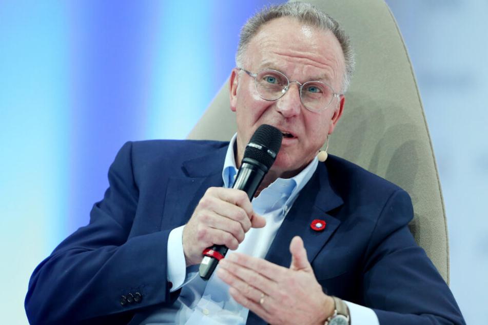 Karl-Heinz Rummenigge erteilt keine Jobgarantien beim FC Bayern.