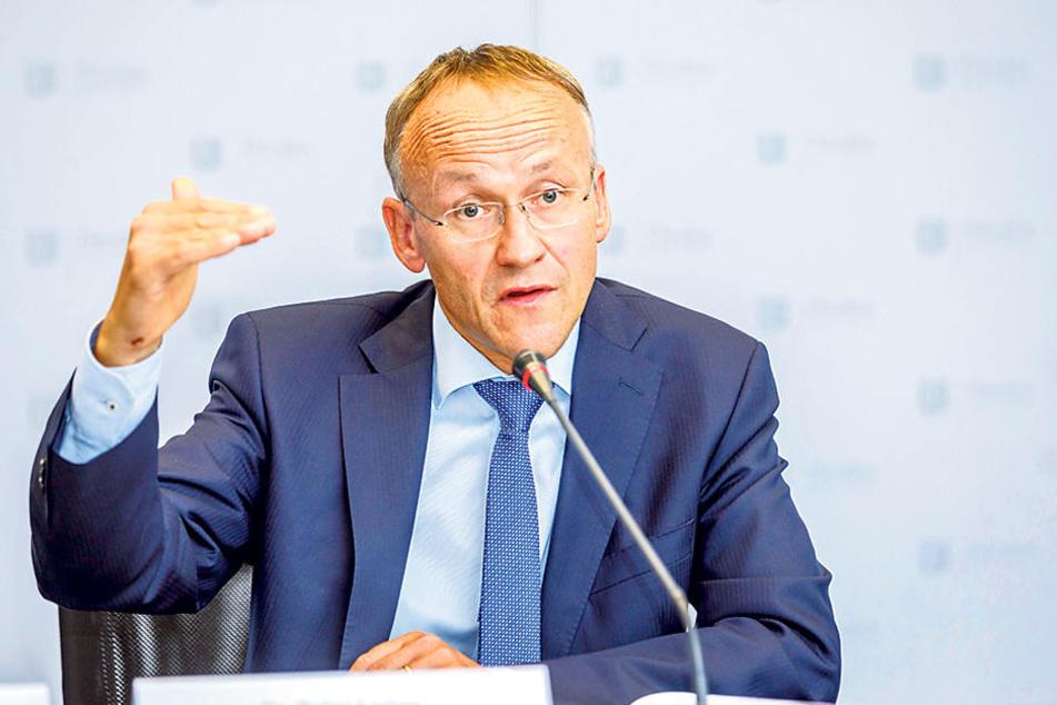 Finanzbürgermeister Peter Lames (SPD).