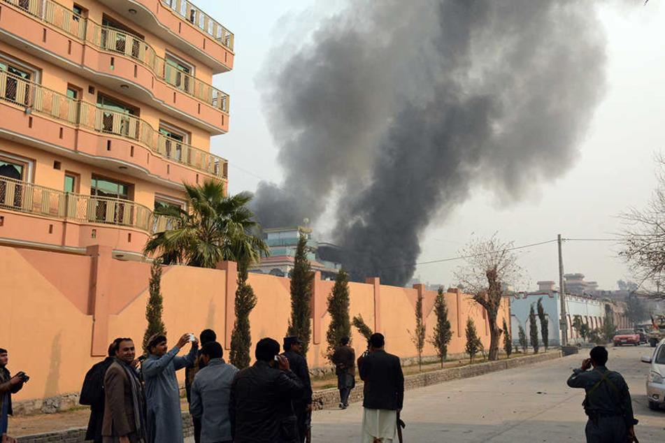 Mindestens sieben Menschen sind bei dem Angriff getötet worden.