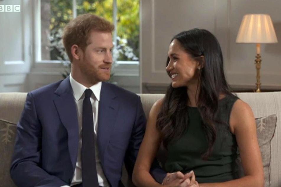 """Prinz Harry über Meghan Markle: """"Es war Liebe auf den ersten Blick"""""""