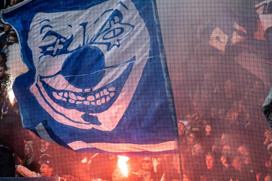 Während des Spiels der Hertha in Dortmund ist es zu Ausschreitungen auf den Rängen gekommen.