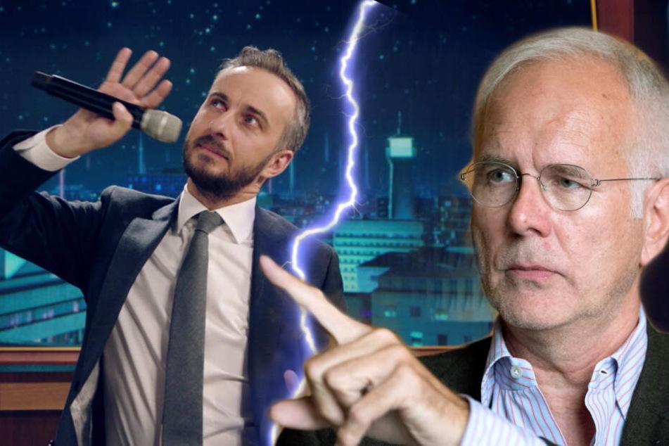Seine ersten TV-Erfahrungen hat Jan Böhmermann (38) bei Harald Schmidt (61) gesammelt.