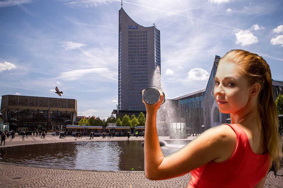 Ab 12 Uhr könnt ihr euch auf dem Augustusplatz sportlich betätigen!