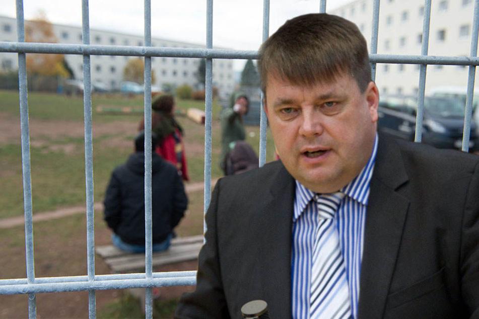 Jens Kolze (51, CDU) wünscht sich ein Flüchtlings-Ankerzentrum für Sachsen-Anhalt.