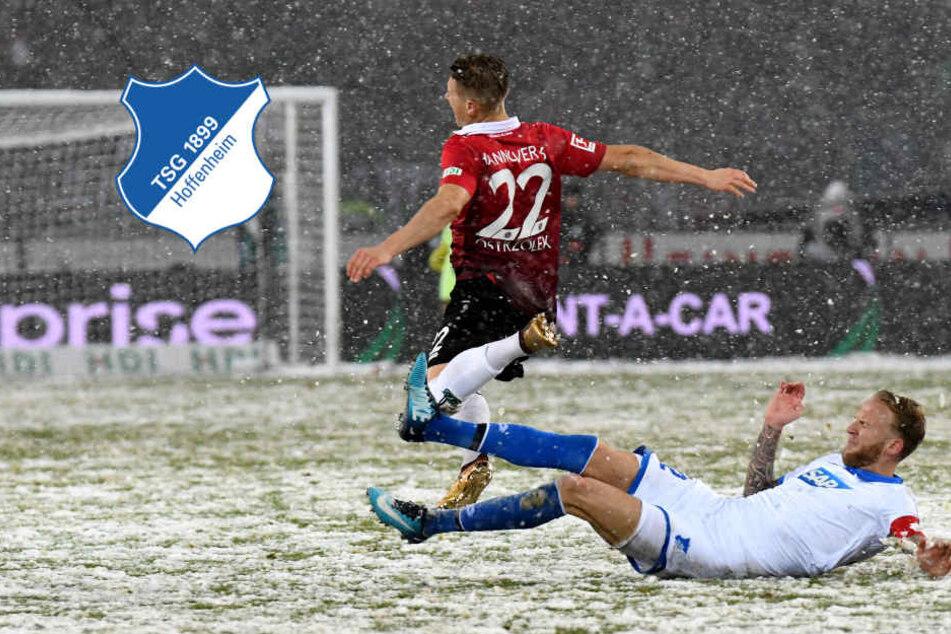 Duell im Schnee! Hoffenheim verliert gegen Hannover mit 0:2