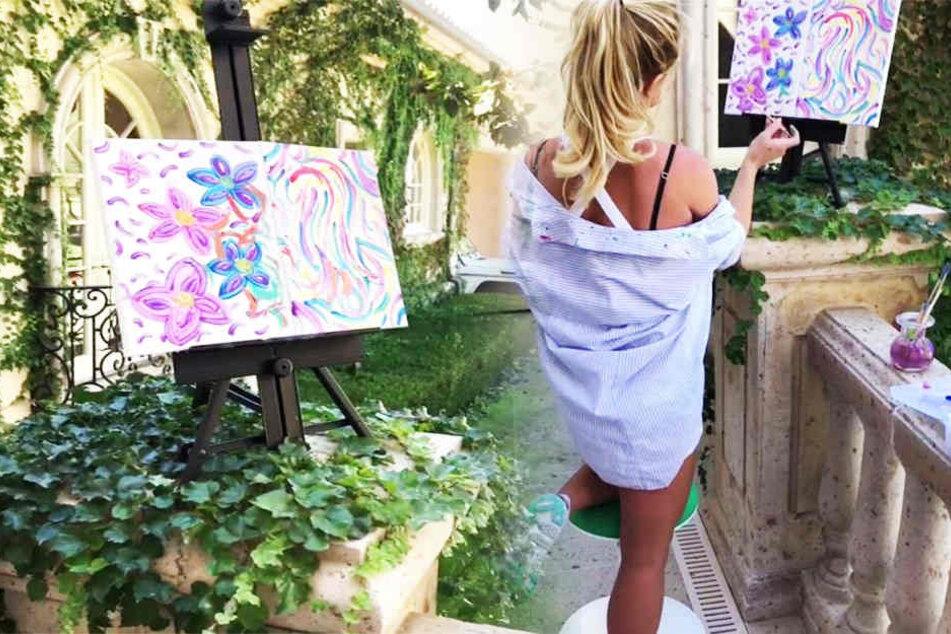 Britney Spears: Diese Berühmtheit versucht sich jetzt als Malerin