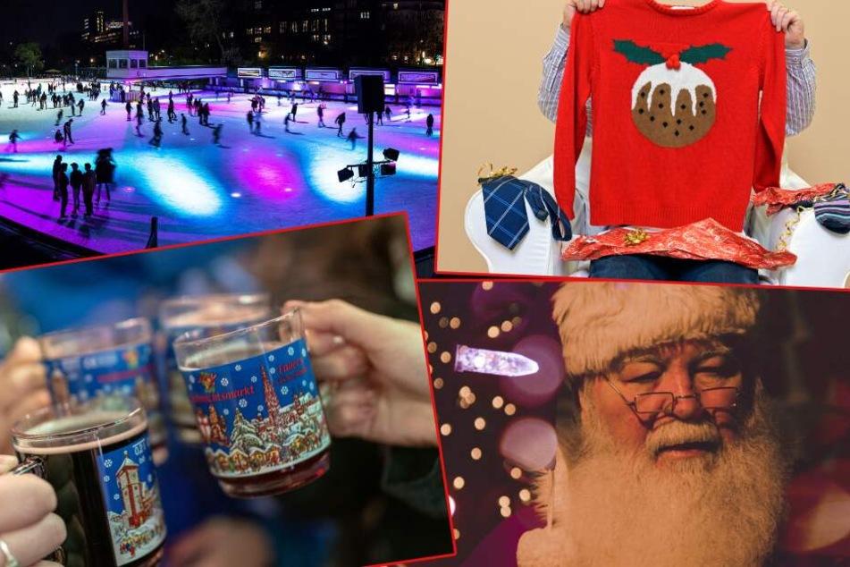Weihnachtsmann und Christmas Sweater: Das steigt kurz vor dem Fest in Hamburg!