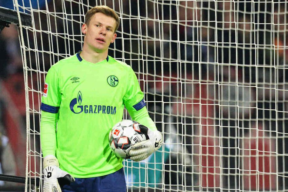 Schalkes Keeper Alexander Nübel rettete seiner Mannschaft einen wichtigen Punkt im Abstiegskampf.