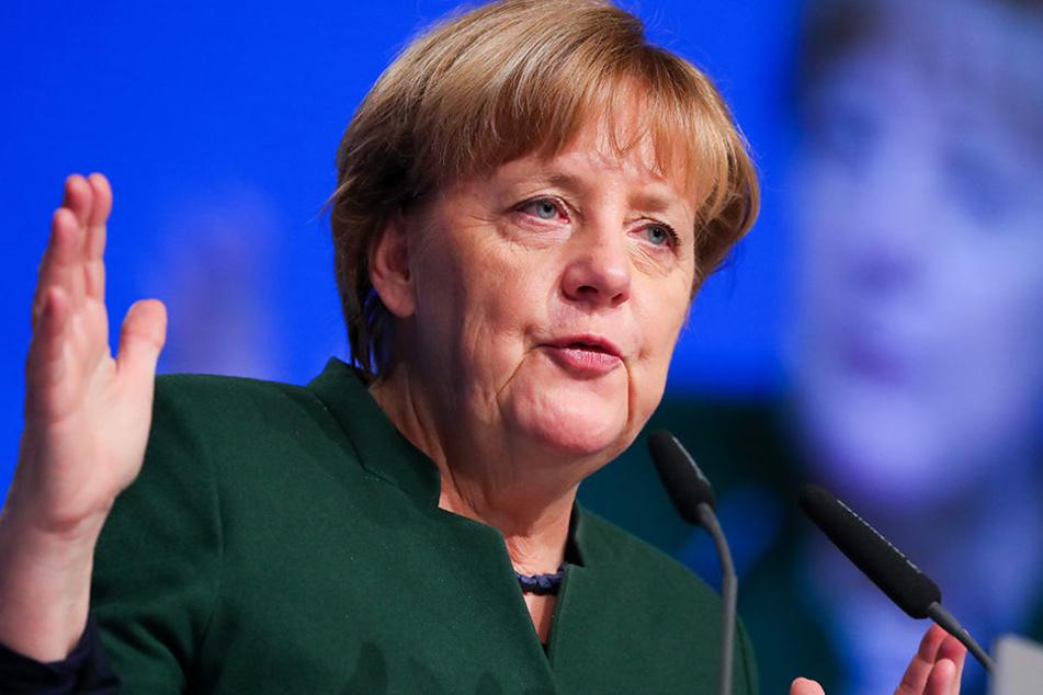 Kanzlerin Angela Merkel kommt regelmäßig zum Deutschen Handwerkstag.