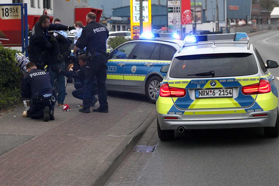 Die Polizei Bielefeld konnte den Tatverdächtigen nach einer Fahndung schnell fassen.