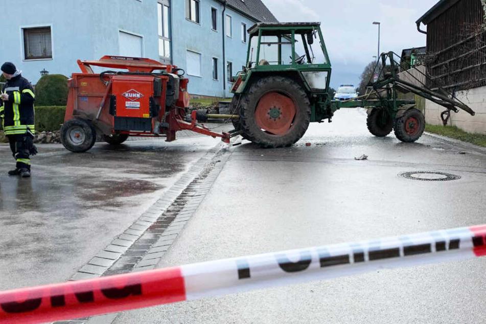 Ein psychich auffälliger Bauernsohn wurde von der Polizei angeschossen.
