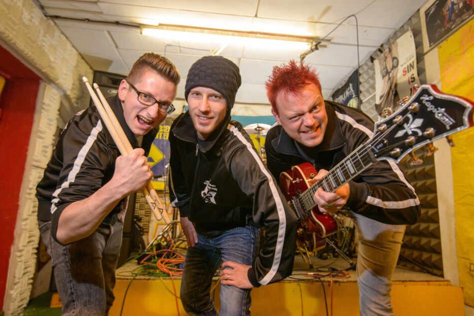 """Die Chemnitzer Kult-Band """"Die Arbeitslosen Bauarbeiter"""" (Archivbild)."""