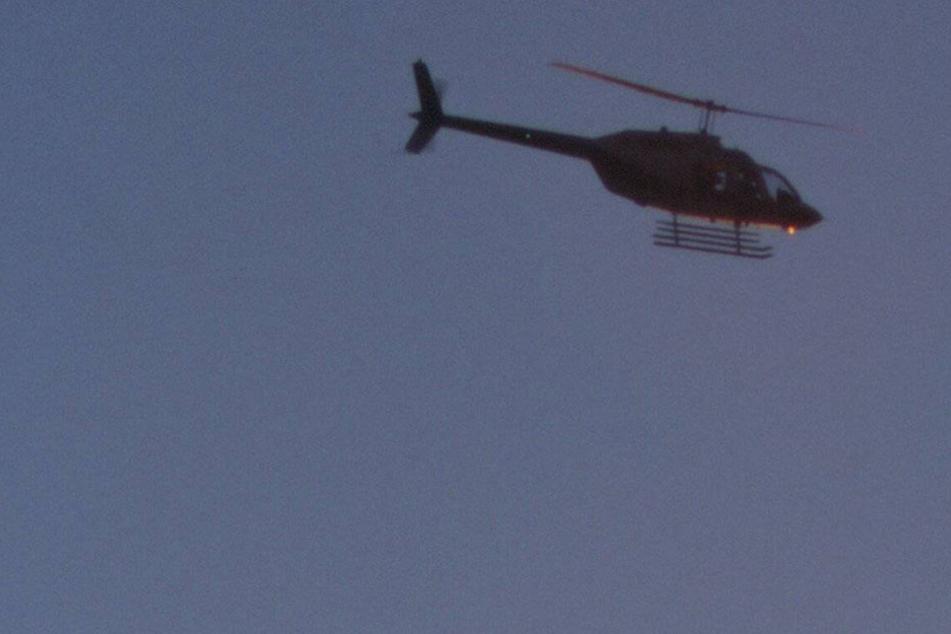 Hubschrauber Heute Nacht