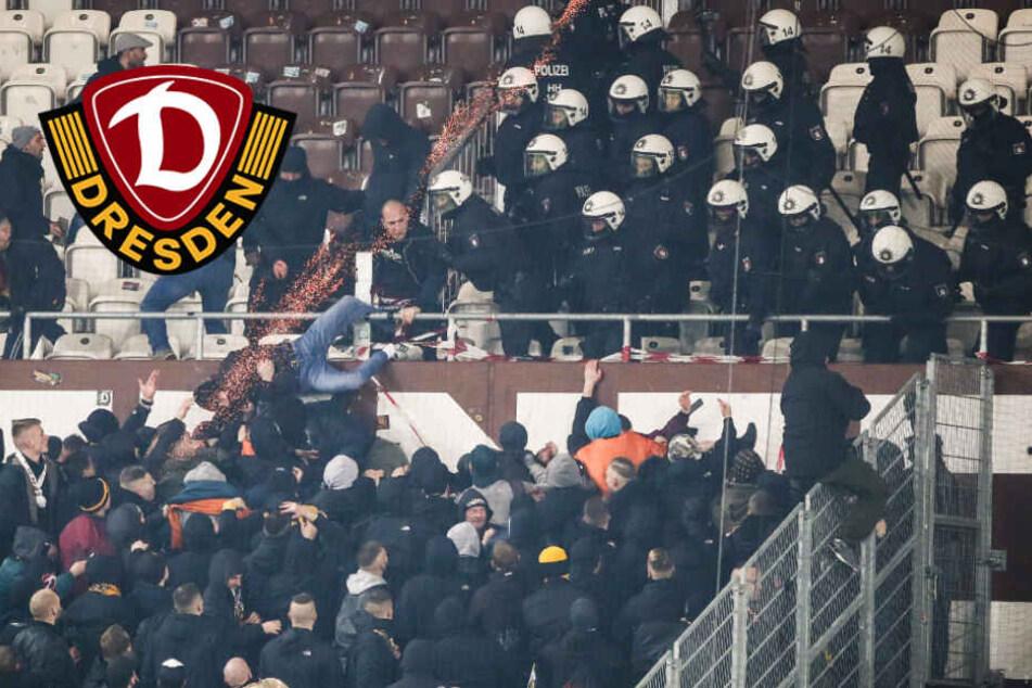 Dynamo-Fans randalieren nach Abpfiff auf St. Pauli