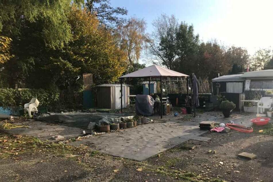Der Campingplatz am Unterbacher See.