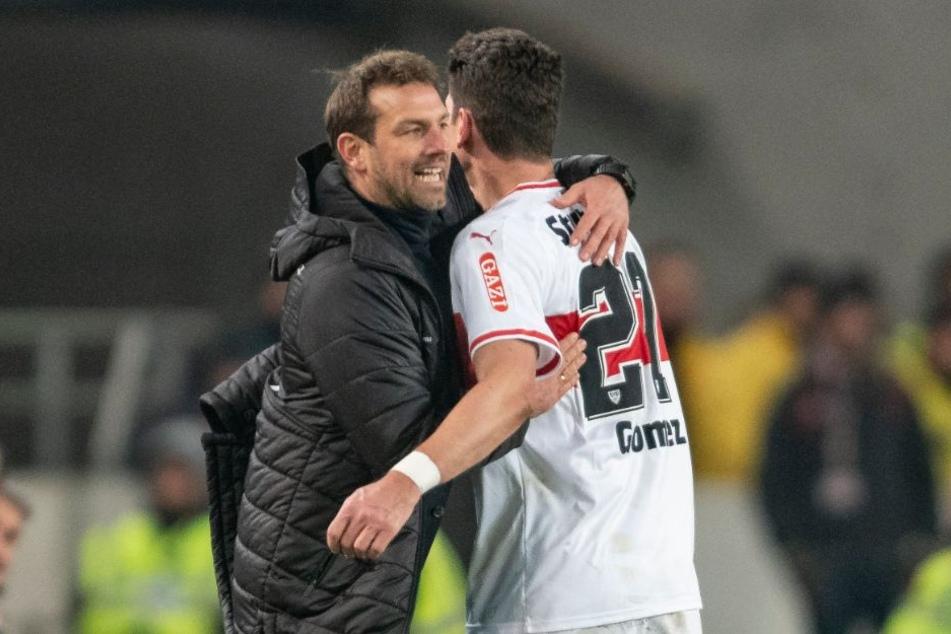 VfB-Coach schickte seinen Stürmer Mario Gomez