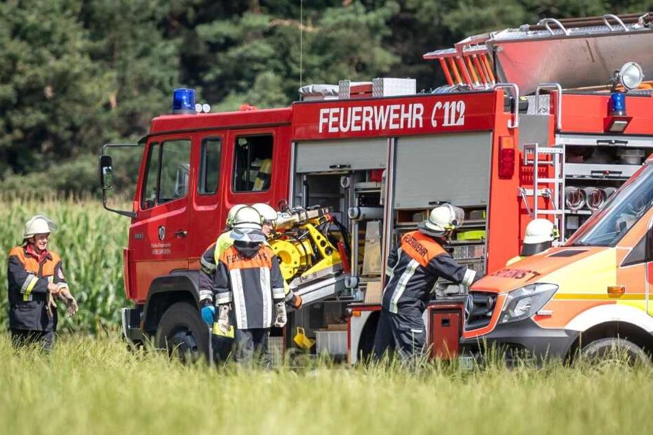 Pilot stirbt bei Flugzeugabsturz nahe München: Explosionsgefahr verhindert Bergung