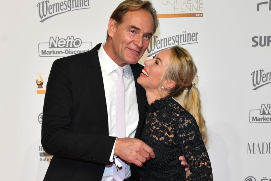 Seit vier Jahren sind der Oberbürgermeister und die Blondine ein Paar.