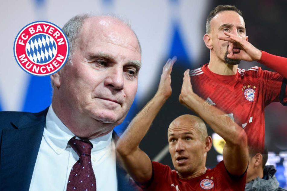 Hoeneß kündigt Abschied an: Aus für diese Bayern-Stars?