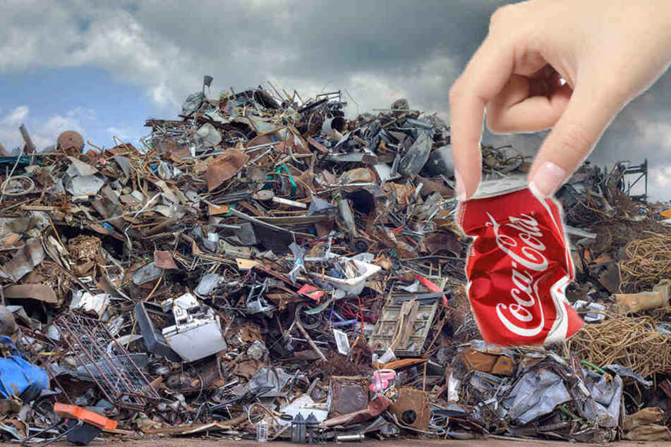 Coca Cola plant die Einführung von Mini-Dosen, die mehr Müll machen. (Symbolbild)