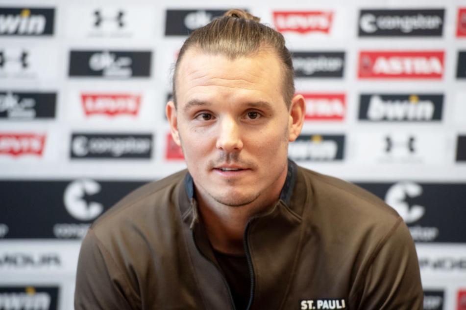 Alex Meier will mit dem FC St. Pauli mindestens den dritten Platz verteidigen.
