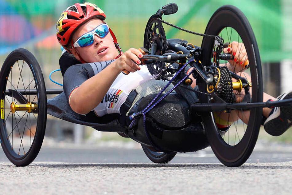 Immer am Limit: Bei den Paralympics in Rio fuhr die Leistungssportlerin ganz vorn mit.