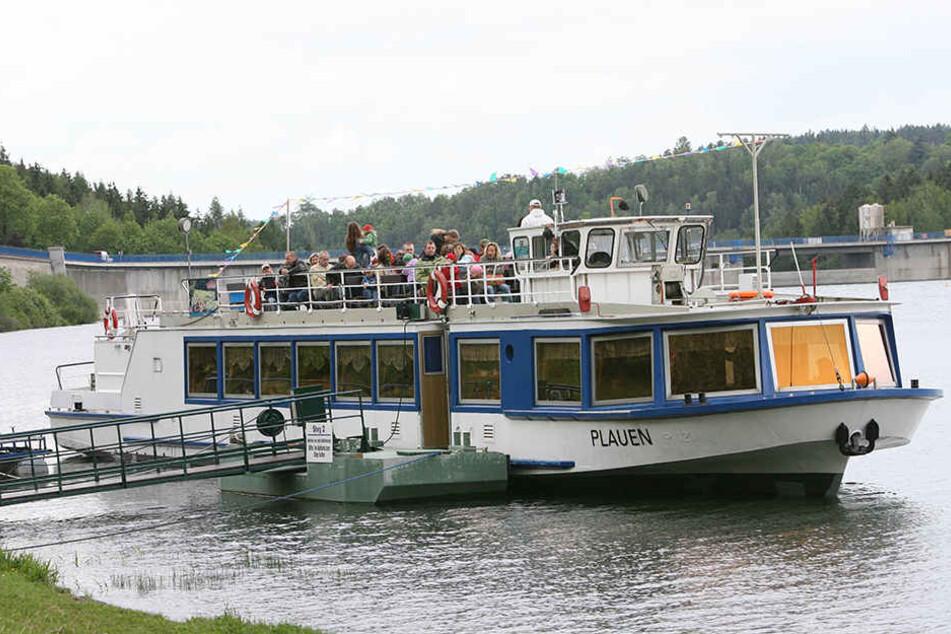 """Das Ausflugsschiff """"Plauen"""" fährt schon seit mehr als 30 Jahren auf der Talsperre Pöhl. (Archivbild)"""