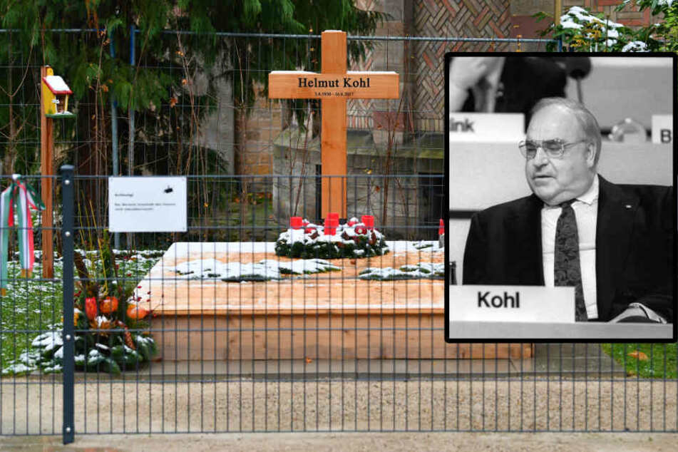 Streit um Grab von Altkanzler Helmut Kohl