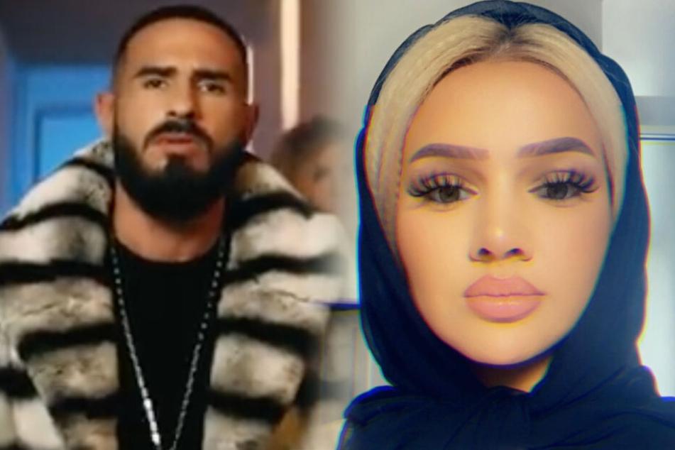 Rapper Shindi hat bisher noch nicht offiziell bestätigt, dass Shirin David hinter der Hook steckt (Fotomontage).