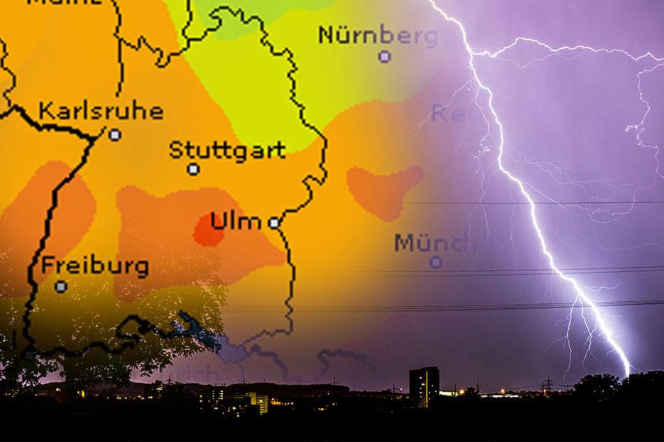 Jetzt kommen die Unwetter in Stuttgart und Umgebung.