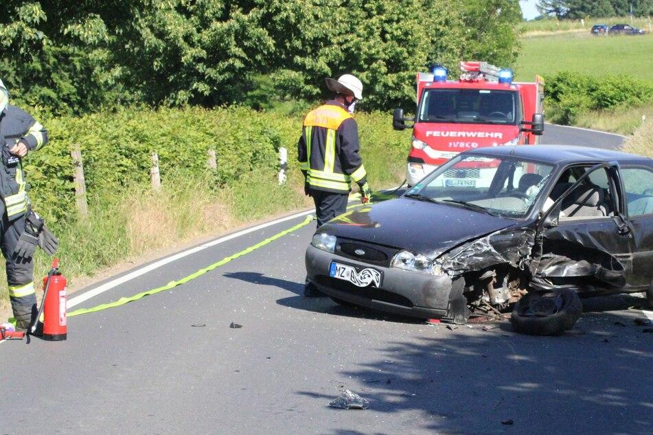 Der Unfall ereignete sich auf der Schönrather Straße bei Rösrath.