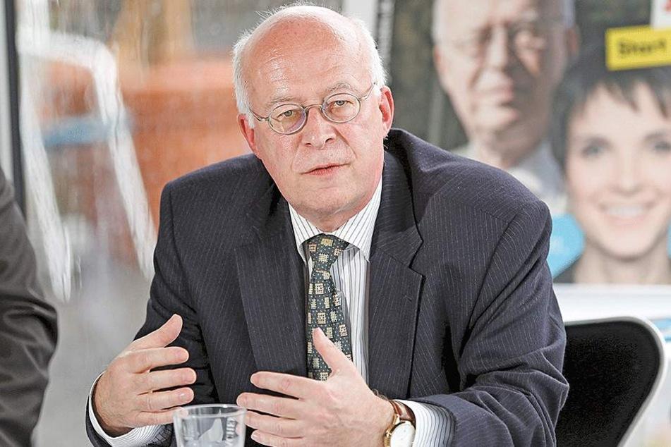 Der bisherige AfD-Fraktionschef Stefan Vogel (59).