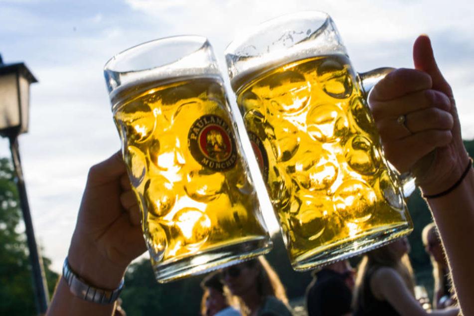 Ob nach dem Unfall auf den Schock ein Maß Bier folgte? (Symbolfoto)