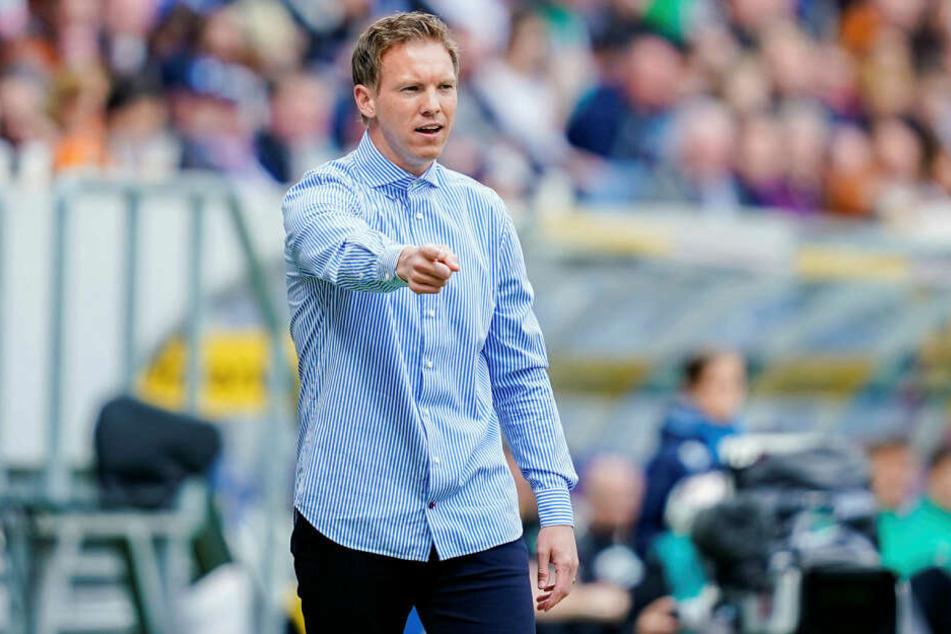 RB Leipzigs neuer Trainer Julian Nagelsmann (31) leitet am Montag die erste öffentliche Trainingseinheit in Vorbereitung auf die neue Saison.
