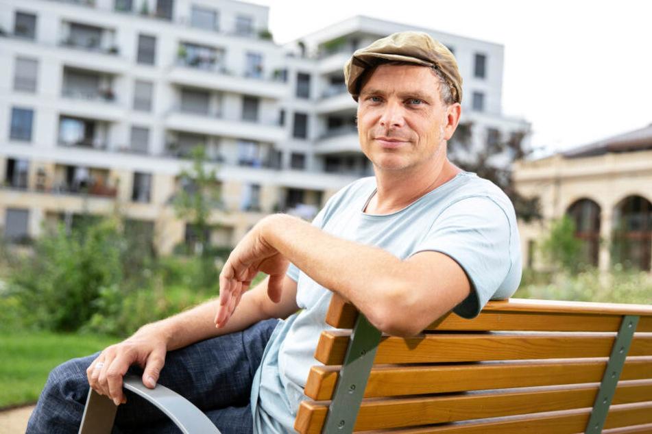 Stadtrat Thomas Löser (47, Grüne) will mehr Bäume auf dem Innenstadt-Ring.