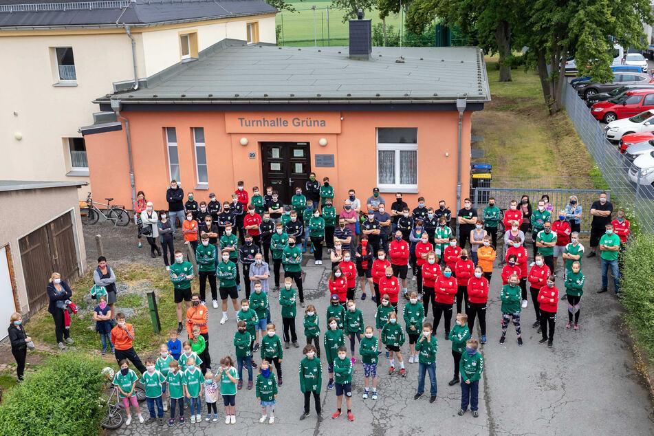 Grünaer empört: Stadt nimmt Handballern Clubzimmer weg