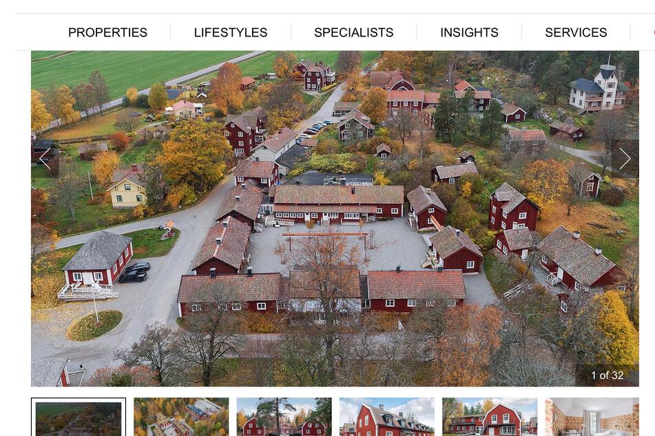 Schnäppchen? Historisches schwedisches Dorf wird versteigert