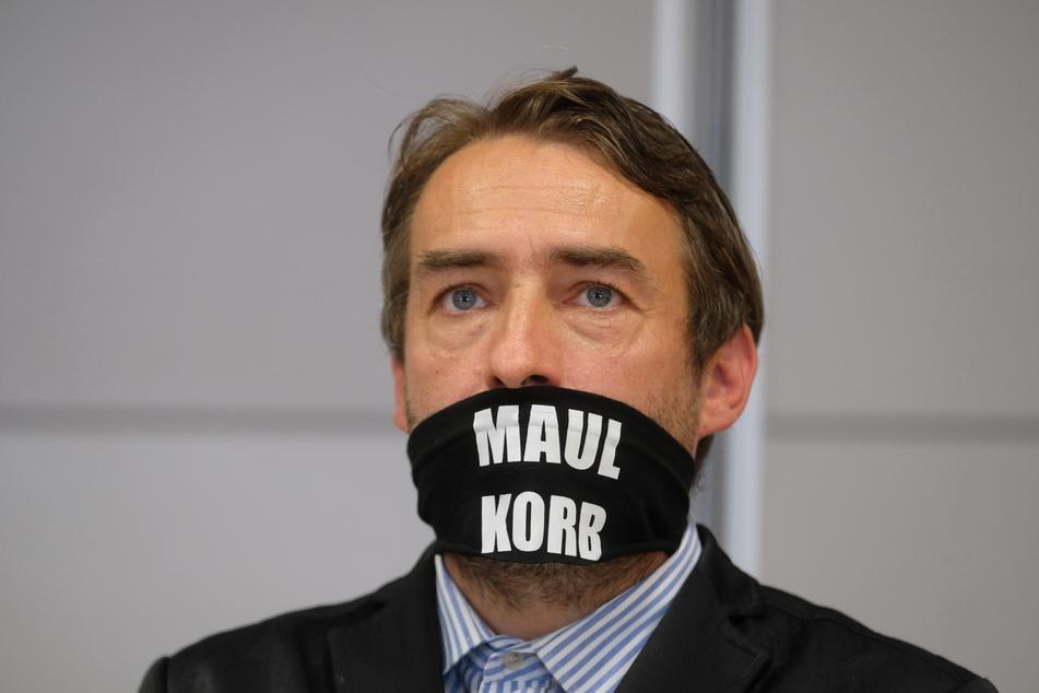 Der 49-jährige Rechtsextremist Sven Liebich musste sich wegen Volksverhetzung vor Gericht verantworten.