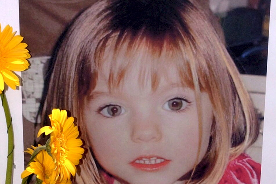 Die verschwundene Madeleine McCann (Maddie) auf einem Foto, das ihre Eltern veröffentlicht haben.