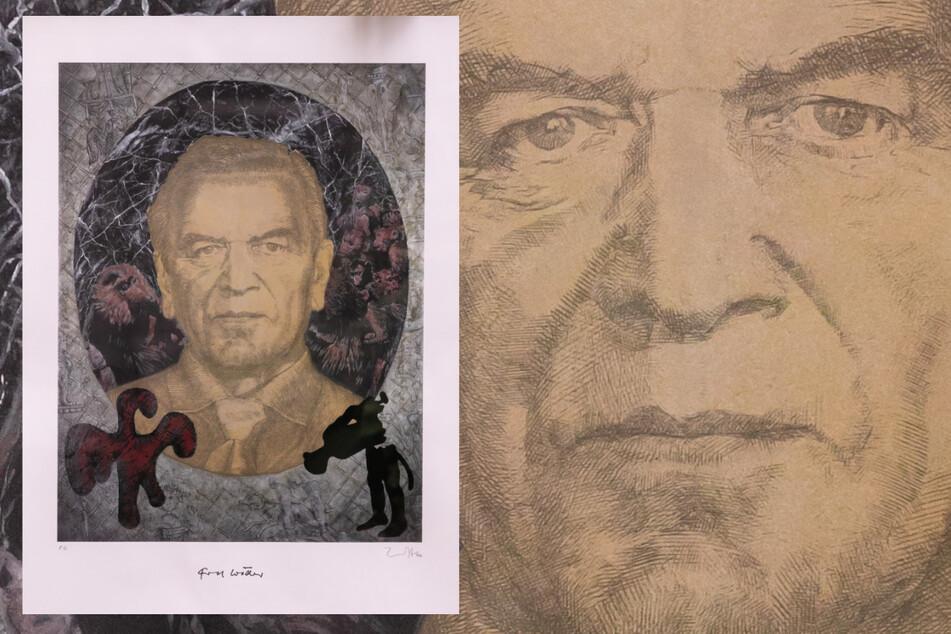 Dieses Kunstwerk schuf Jörg Immendorff (1945 bis 2007)