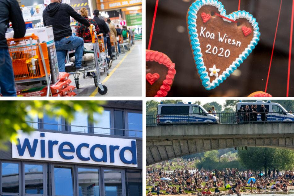 Das war 2020: Wiesn-Absage, Maskenpflicht und Wirecard-Skandal in Bayern