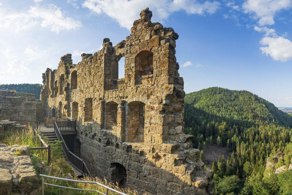 Die Ruine bei Oybin in Sachsen inspierierte auch die Gebrüder Grimm.