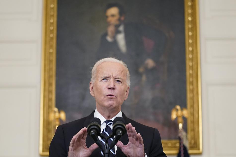 Joe Biden (78), Präsident der USA.