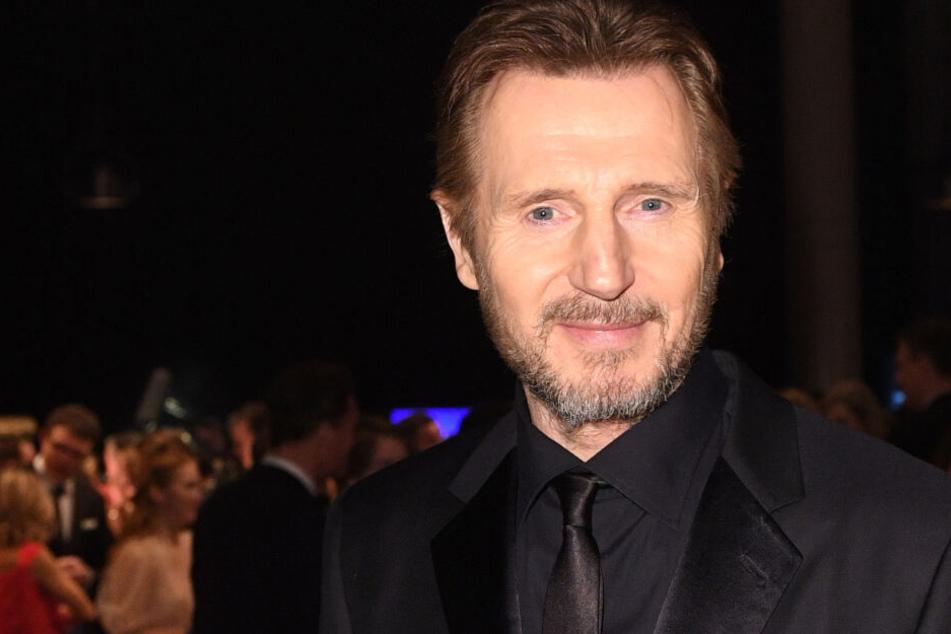 Liam Neeson bei der Verleihung der Goldenen Kamera 2018 in Hamburg.