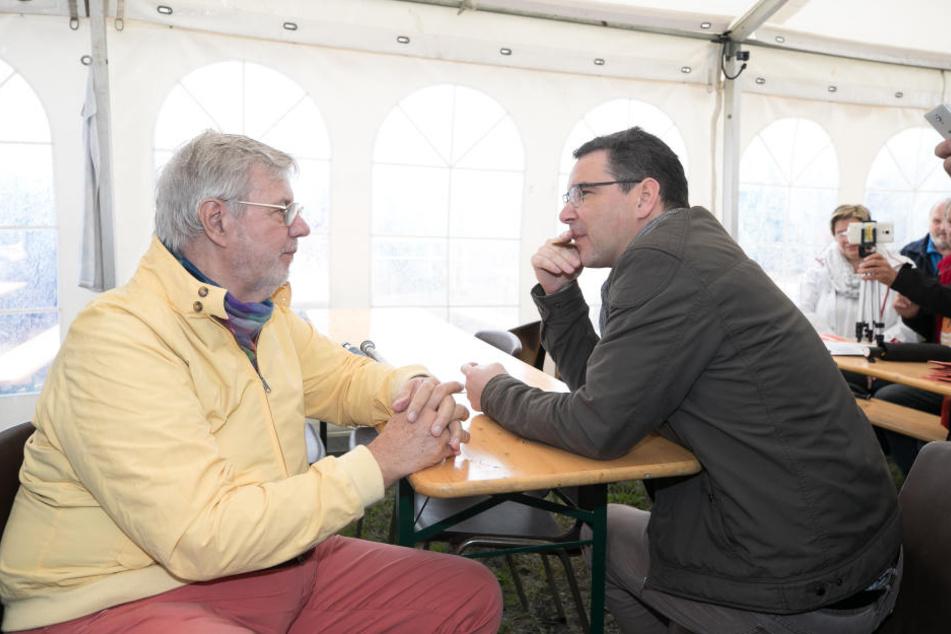 Ronny Klein im Gespräch mit Morten Grunwald.