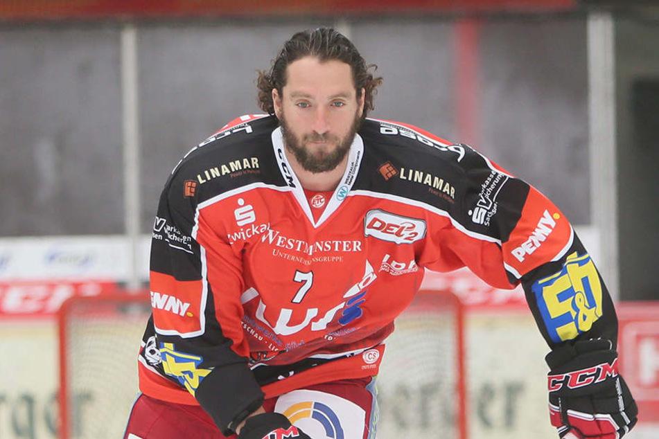 Jason Pinizzotto (36) gehört zu den Führungsspielern bei den Eispiraten