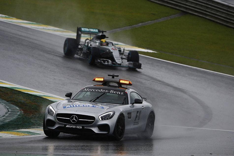Das Rennen inSão Paulo wurde insgesamt fünf Mal vom Safety-Car angeführt.